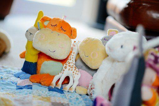 Мягкая игрушка - подарок внуку от бабушки и дедушки