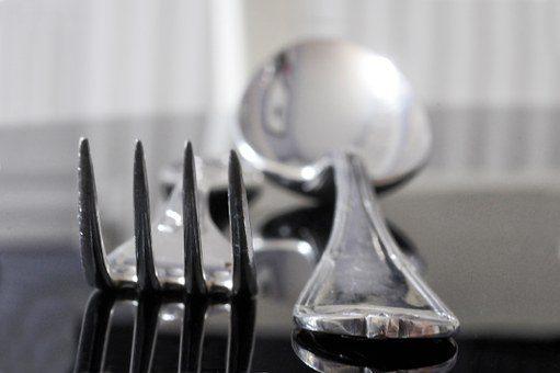 Серебряные приборы - подарок мужу