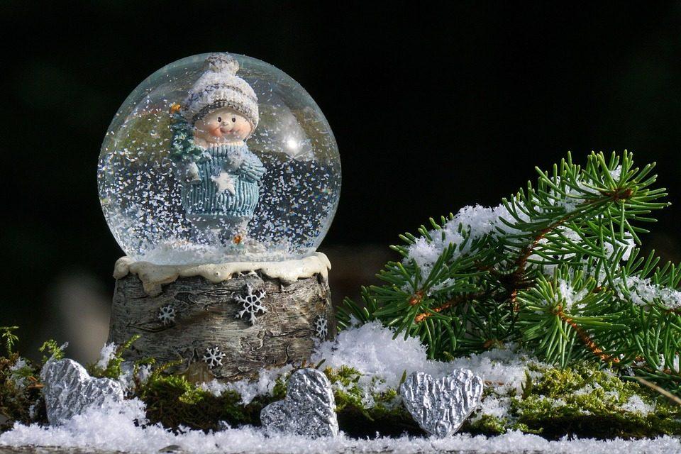 Снежный шар - 12 подарков для домашнего уюта