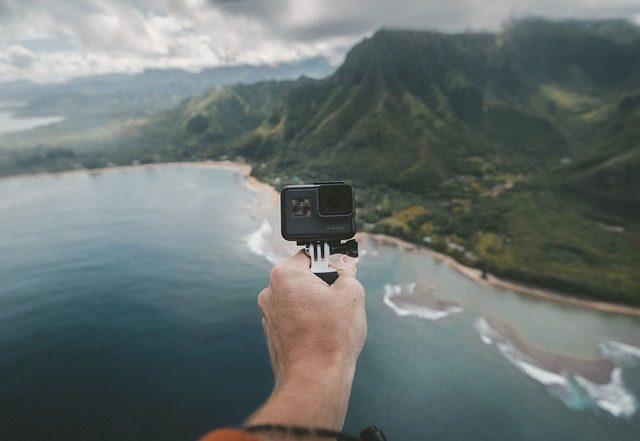 Экшен-камера - идеи подарков для путешественников