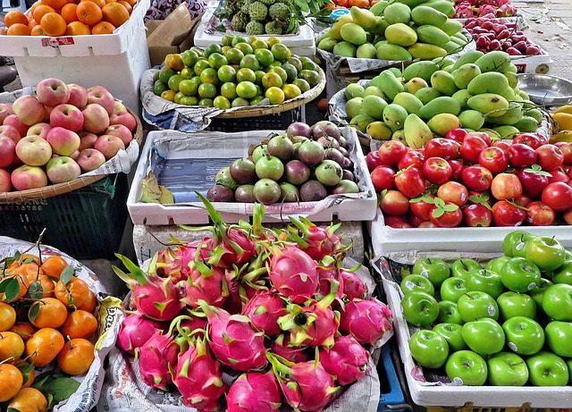 Фруктовая корзина экзотических фруктов - Идеи вкусных подарков
