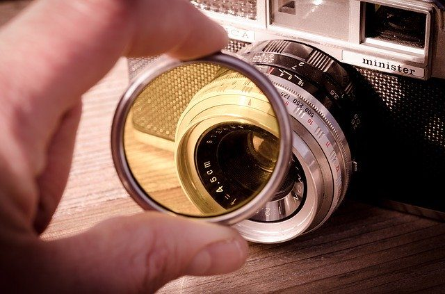 Набор светофильтров - Что подарить фотографу