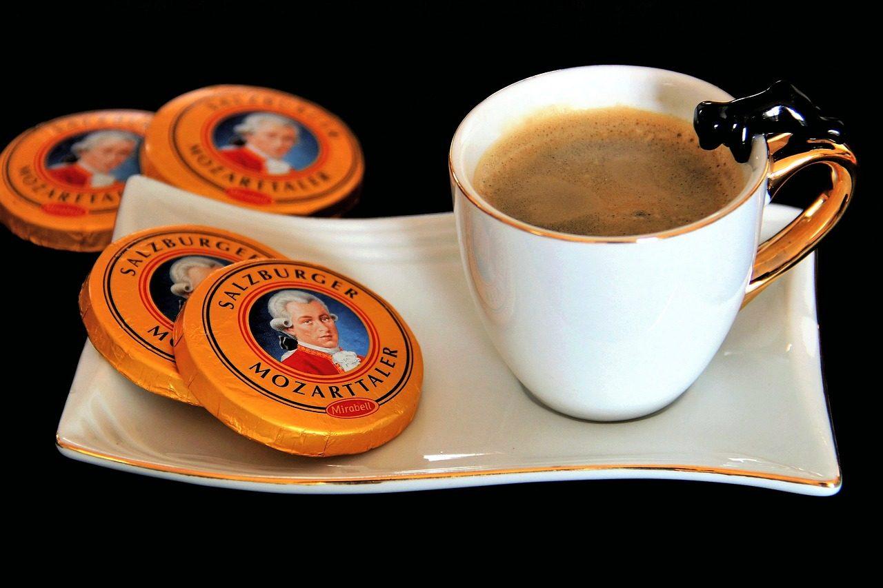Шоколадные конфеты Mozart Kuegel - Подарки и сувениры из Вены