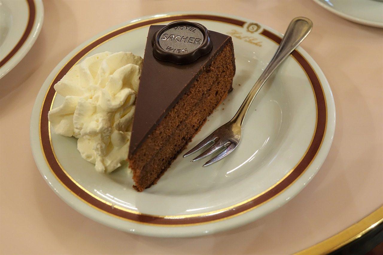 Торт Original Sacher Torte - Подарки и сувениры из Вены