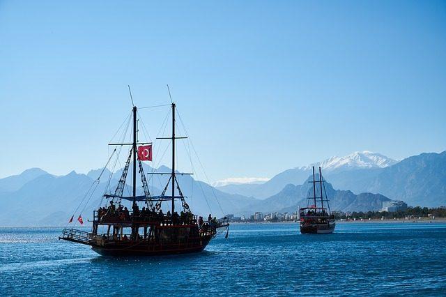 Турция -  Съедобные сувениры из разных стран мира