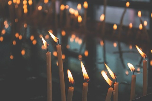33 свечи - сувениры из Израиля