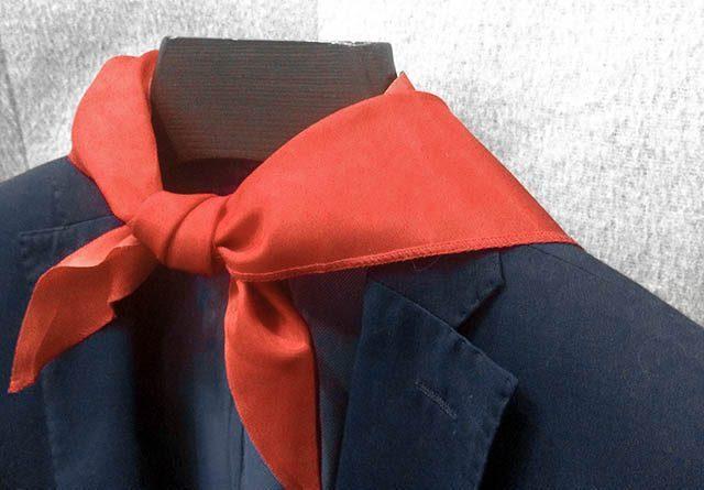 Пионерский галстук- 11 креативных подаркова