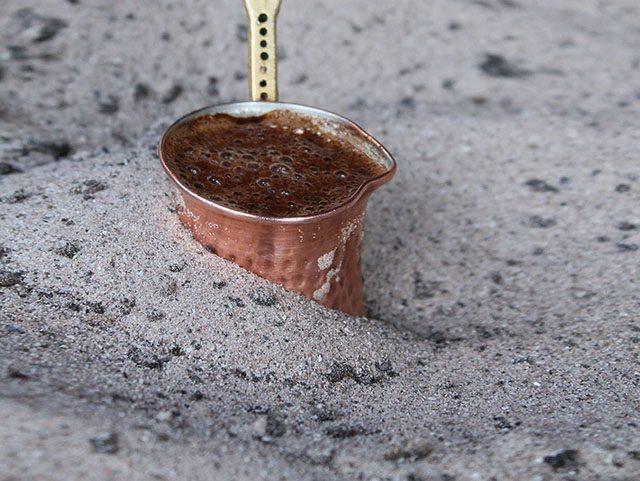 Жаровня на песке - 12 подарков кофеману