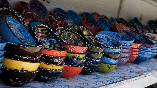 Посуда с ручной росписью - 11 подарков из Турции