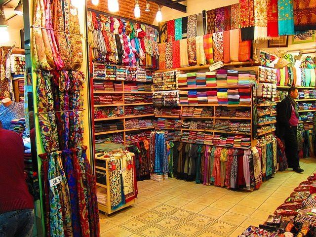 Ткани и одежда - 11 подарков из Турции