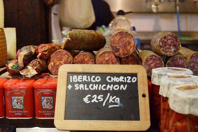 Колбаса - что привезти из Барселоны