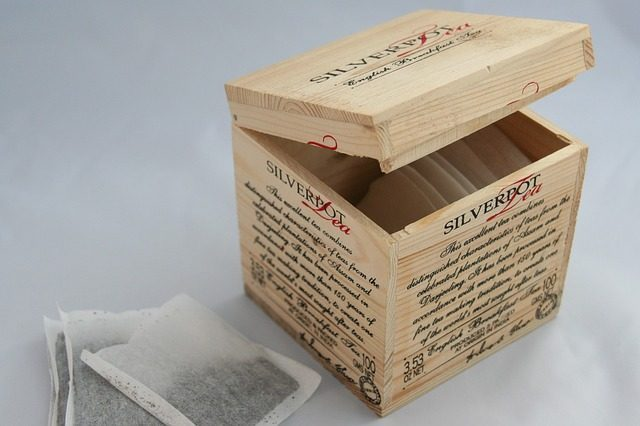Шкатулка для хранения чая - Что подарить к чаю