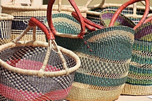 Плетеные сумки и корзины - что привезти из Ибицы
