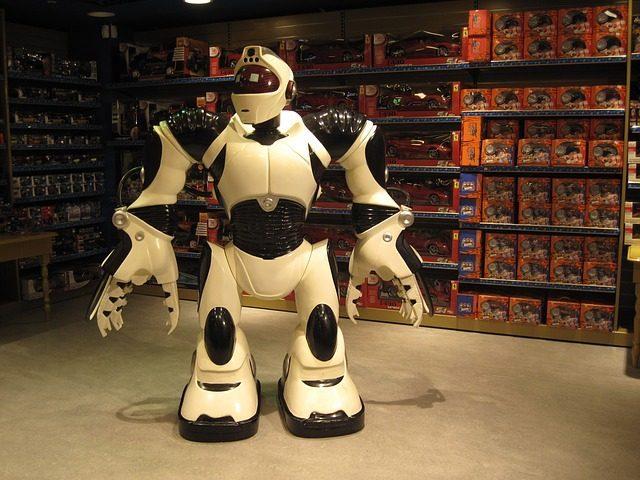 Робот - Что подарить мальчику на 4 года