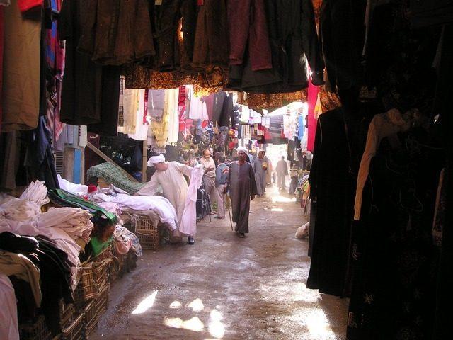 Египетская одежда и ткани - Сувениры из Египта, что привезти