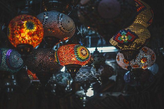 Тканевый или стеклянный светильник - Что привезти в подарок из Гоа