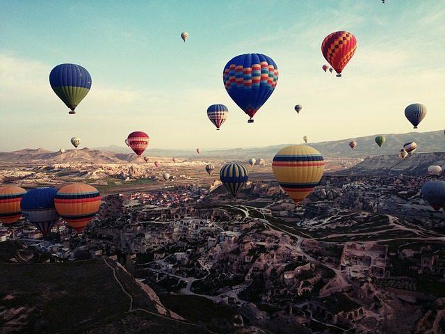 Полёт на воздушном шаре - идея подарка Подариок