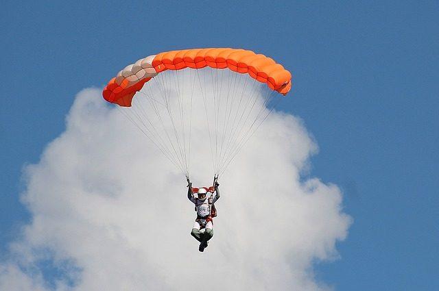 Полёт с парашютом - идея подарка Подариок