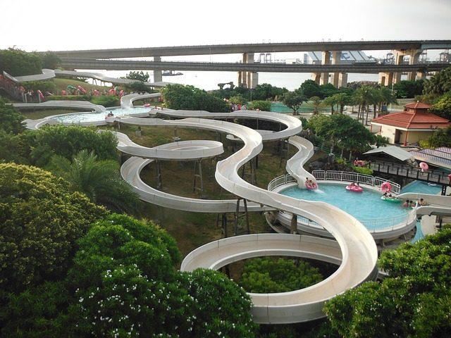 Посещение аквапарка - идея подарка Подариок
